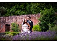 Receive a £100 discount on all weddings booked over this weekend