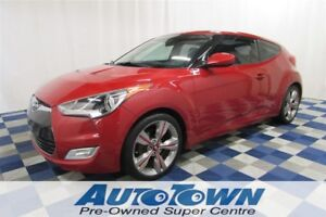 2013 Hyundai Veloster Tech/BACKUP CAM/SUNROOF/HTD SEATS/NAV