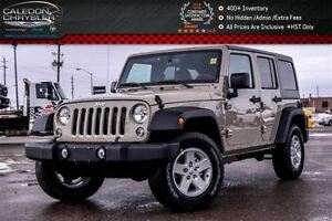 2017 Jeep WRANGLER UNLIMITED New Car Sport|4x4|Hard Top|Pwr wind