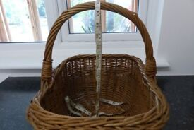 For sale - Cane wicker basket