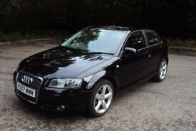 2007 07 AUDI A3 2.0FSI (200PS) TURBO SPORT,LOVELY LOW MILEAGE CAR WITH FSH AND LONG MOT