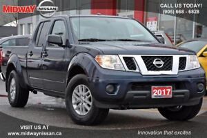 2017 Nissan Frontier Crew Cab SV 4x4 at SV