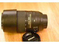 Nikon 55-70mm AFS-DX f4.5-6G ED VR Lens Reduced