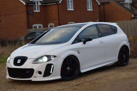 Stunning 2009 SEAT LEON Turbo Full K1 Body Kit – Great Sounding Fast Car – Cheap TAX & Insurance