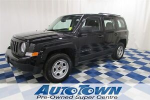 2014 Jeep Patriot Sport/SATELLITE RADIO/4x4/LOW KM/A/C