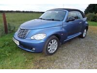 2007 Chysler PT Cruiser 2.4 convertable MOT Oct 2017 £1795 Bargain AUTOMATIC