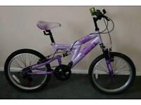 Girl's mountain bike.