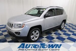 2011 Jeep Compass Sport/North 4X4/ACCIDENT FREE/ONE OWNER/LOW KM