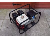 honda 5.5 hp generator petrol 240 and 110 v gx 160