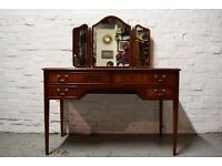 mahogany dressing table for upcycling (DELIVERY AVAILABLE)