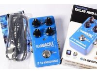 TC Electronic Flashback delay V1 guitar pedal (Boxed as new)