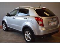 SSANGYONG KORANDO 2.0 ELX4 5 Door AUTO 4X4 175 BHP (silver) 2014