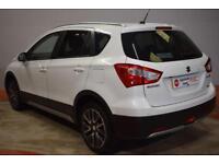 SUZUKI SX4 S-CROSS 1.6 SZ5 ALLGRIP 5d AUTO 118 BHP (white) 2013