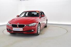 BMW 3 SERIES 318d SE 4dr Step Auto (red) 2014