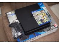Like new Sony Playstation 4 PS4 Slim 1TB with Sealed Fifa 17