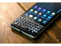 swap Blackberry Keyone Unlocked with box mint condition