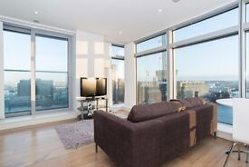Luxury 1 Bed Apartment in Pan Peninsula Square, 17th Floor, Pool, Gym, Cinema, Rooftop Bar- VZ