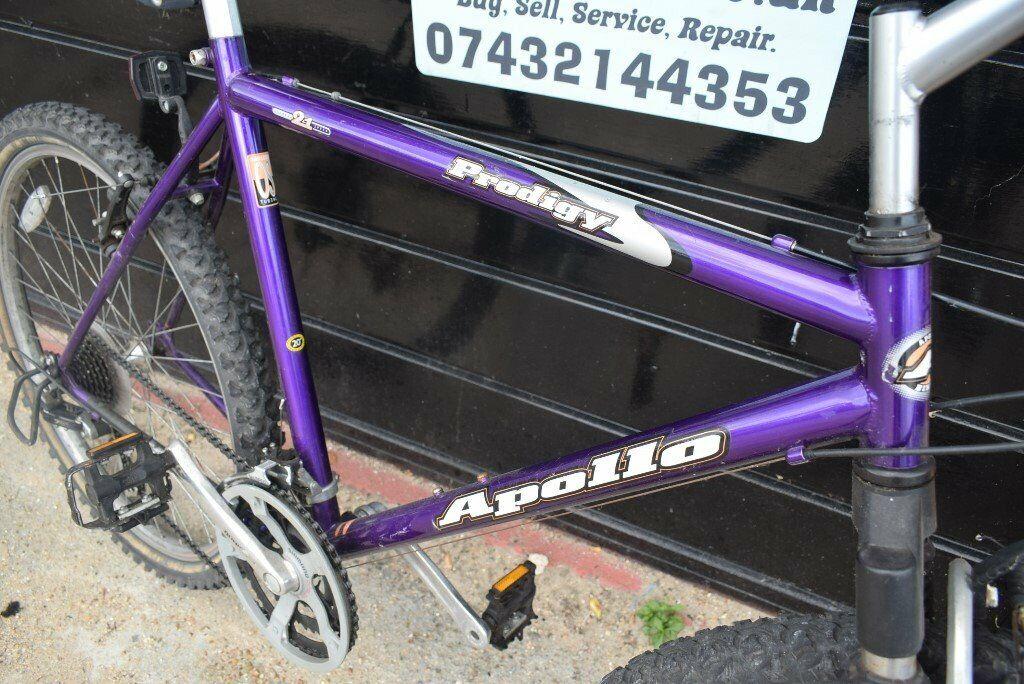 Apollo Prodigy Mens Hardtail Mountain Bike 21 inch Frame 21 Speed   Serviced(7 9)   in Fareham, Hampshire   Gumtree