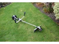mac allister petrol grass trimmer petrol 2 stroke