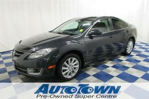 2013 Mazda MAZDA6 GT/ACCIDENT FREE/HTD SEATS/SUNROOF/LEATHER