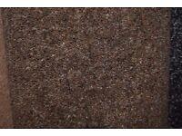 80/20 Wool Twist Brown Carpet 3.1m x 3.8m 40oz (144)