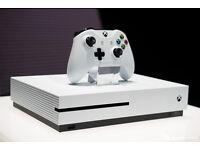 white xbox one,s