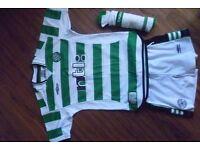 Boys Celtic football kit - small boys