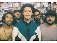 2 x Hobo Johnson and the lover makers. Newcastle riverside 3rd Aug 2018