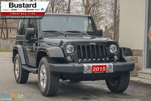2015 Jeep Wrangler Sahara/MANUAL/ NAVIGATION/  HARDTOP Kitchener / Waterloo Kitchener Area image 4