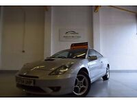 Toyota Celica 1.8 VVT-i 3dr. Excellent Condition FSH, 6 Months Warranty & AA Cover, Indoor Showroom