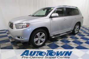 2008 Toyota Highlander V6 Sport AWD/SUNROOF/LEATHER/BACKUP CAM