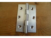 8 Pairs Ball Bearing Door Hinges NEW