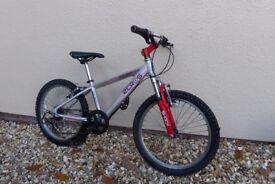 Raleigh Zero G20 kids Aluminium frame bike age 6-9 years