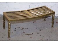 Antique Brass Pot Stand (DELIVERY AVAILABLE)