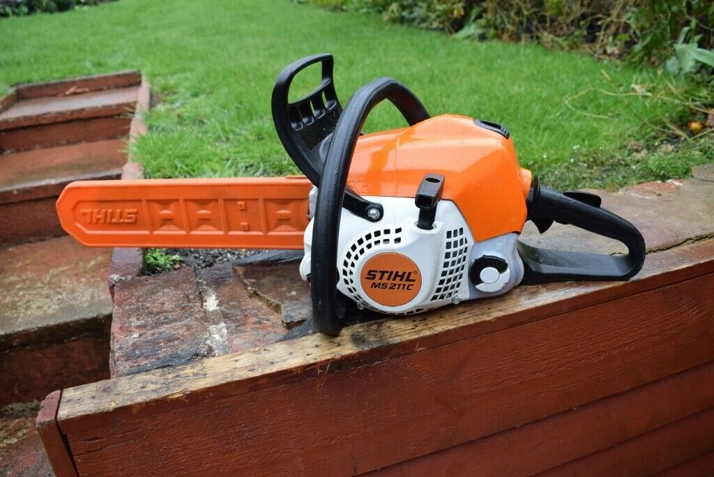 STIHL MS 211 C CHAINSAW EASY START 2 STROKE PETROL | in Sandwell, West  Midlands | Gumtree