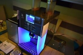 WMF Presto Commercial Bean to Cup Coffee Machine + Milk fridge