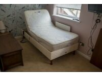 Adjustable Single Electric Bed
