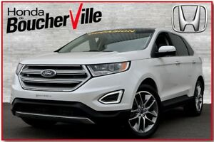 2015 Ford Edge Titanium Cuir Camera Navigation Toit panoramique