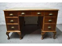 Antique partners desk (DELIVERY AVAILABLE)
