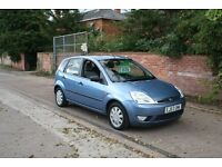 30 day Gurantee - Excellent Ford Fiesta 1.4 (Auto) 5 door - low mileage - new MOT - service hsitory