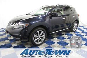 2013 Nissan Murano Platinum/NAV/PANOROOF/REV CAM/PWR GATE/LOW KM
