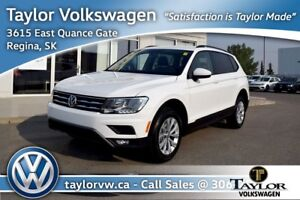 2018 Volkswagen Tiguan Trendline 2.0 8sp at w/Tip 4M Just Reduce