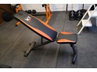 We R Sports Gym Fitness Training Workout Weight Bench, Adjustable, Foldable