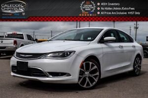 2016 Chrysler 200 C|Navi|Pano Sunroof|Backup Cam|Bluetooth|R- St