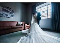 Pro Wedding Photography, £100 per hour, free private online gallery
