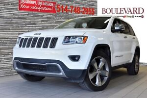 2014 Jeep Grand Cherokee LIMITED 4X4 CUIR MAGS 20' ECRAN 8.4 TOI
