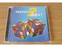 Fantastic 80's 2 CD - 2 Disc Set