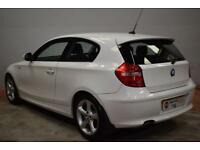 BMW 1 SERIES 2.0 116I SPORT 3d 121 BHP (white) 2010