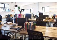 Bright Industrial coworking loft studio - Desks Now available - London Fields