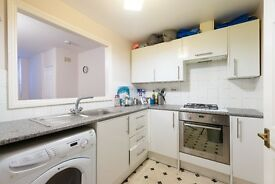 Recently redecorated two bedroom, two bathroom flat with small garden